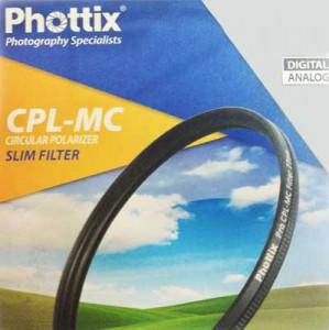 Фильтр поляризационный Phottix CPL-MC Slim 55мм