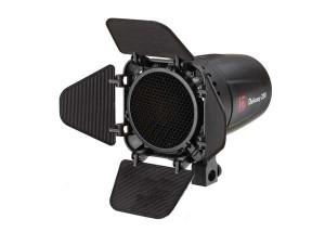 Импульсный источник света Jinbei D-250 Digital Studio Flash мощностью 250 Дж с софтбоксом