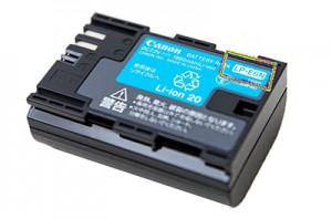 Аккумулятор Canon LP-E6N для 5D Mark II/5D Mark III /7D/7DII/6D/60D/70D