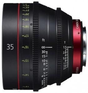 Объектив Canon CN-E35мм T1.5 L F