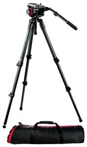Manfrotto 504HD,535K Штатив с видеоголовкой для видеокамеры
