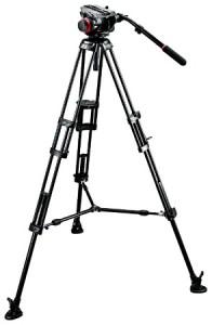 Manfrotto 504HD,546BK Штатив с видеоголовкой для видеокамеры