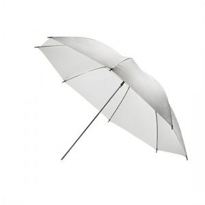 """Компактный белый отражающий фотозонт MINGXING 2-folded Black / White Umbrella (36"""") 91 cm"""