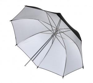 "Фотозонт белый отражающий MINGXING Black / White Umbrella (43"") 109 cm"