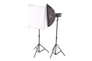 Импульсный свет комплект FST E-250 Softbox Kit